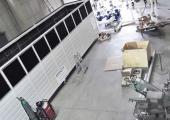 Sistema in fase di montaggio per l'ispezione