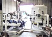 Sistema di pompaggio e filtrazione collegato