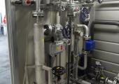 Esempio di skid completo SWTF150 nel settore petrolchimico