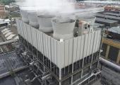 Torre evaporativa SCAM S.p.A. ormai in funzione da 30 anni presso lo stabilimento FIAT Mirafiori