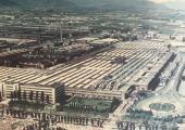 Ripresa storica dello stabilimento FIAT Mirafiori al quale siamo storicamente legati
