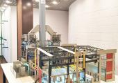 Plastico della centrale a ciclo combinato da 120 MW equipaggiata con torri SCAM S.p.A.