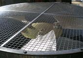 Dettaglio del mozzo STD di una girante da 1800 mm installata