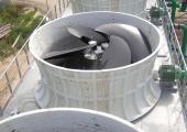 Installazione di larghe giranti assiali low noise